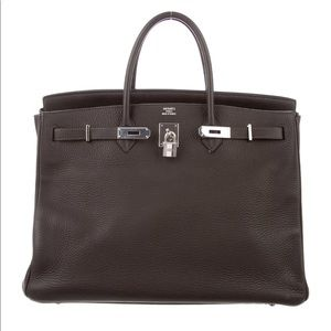 Hermès Togo Leather Birkin 40 w/Palladium Hardware